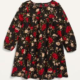 Long-Sleeve Floral Dress for Toddler Girls   Old Navy (US)