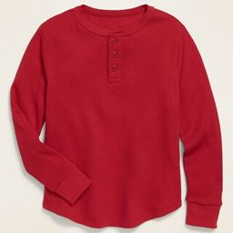 Thermal-Knit Long-Sleeve Henley Tee for Boys   Old Navy (US)