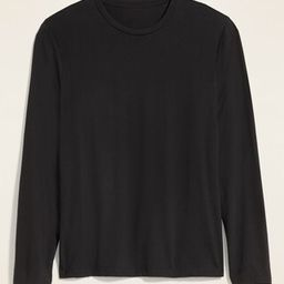 Soft-Washed Crew-Neck Long-Sleeve Tee for Men   Old Navy (US)