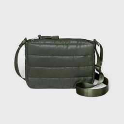 Zip Closure Puffer Crossbody Bag - Wild Fable™   Target