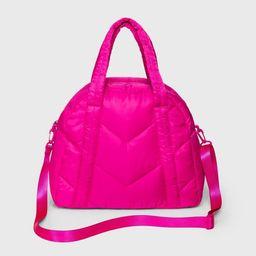 Zip Closure Puffer Tote Handbag - Wild Fable™   Target