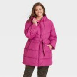Women's Puffer Jacket - A New Day™   Target