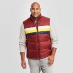 Men's Big & Tall Sleeveless Puffer Vest - Goodfellow & Co™   Target