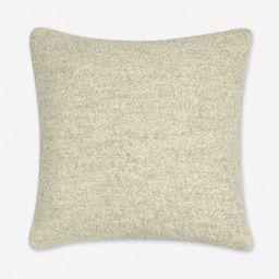 Manon Linen Boucle Pillow, Oatmeal | Lulu and Georgia