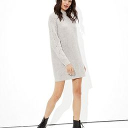 AE Mock Neck Shift Dress | American Eagle Outfitters (US & CA)