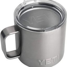 YETI Rambler 14 oz Mug, Stainless Steel, Vacuum Insulated with Standard Lid   Amazon (US)
