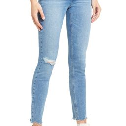 Verdugo Ripped Raw Hem Skinny Jeans | Nordstrom