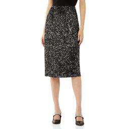 Scoop Women's Pull-On Sequin Skirt | Walmart (US)
