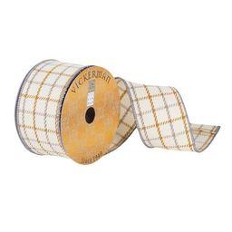 Simple Plaid Ribbon The Holiday Aisle® | Wayfair North America