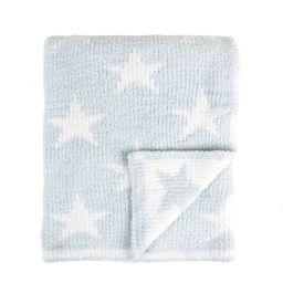 Tadpoles Ultra-Soft Chenille Knit Baby Blanket - Blue/White | Target