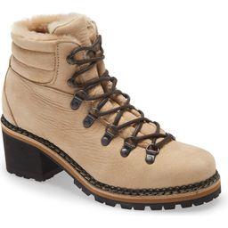 La Montelliana Ninfea Genuine Shearling Lined Hiker Boot (Women) | Nordstrom | Nordstrom
