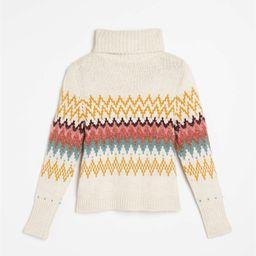 Fair Isle Turtleneck Sweater | LOFT | LOFT