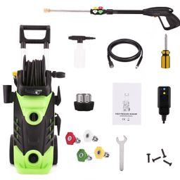 Max 3500PSI Electric High Pressure Washer 2.6GPM Cleaner Machine With Hose Reel,1800W | Walmart (US)