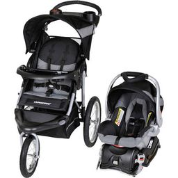 Baby Trend Expedition Jogger Travel System, Millennium White   Walmart (US)