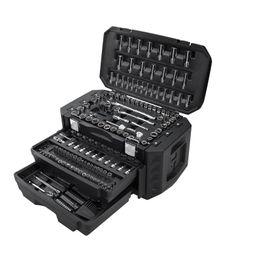 HART Multiple Drive 215-Piece Mechanics Tool Set, Chrome Finish | Walmart (US)