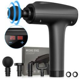 Muscle Massage Gun Handheld Deep Tissue Massager Electric Quiet Portable Massaging Gun 20 Speed A... | Walmart (US)