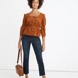 Cali Demi-Boot Jeans in Larkspur Wash: Tencel™ Denim Edition | Madewell