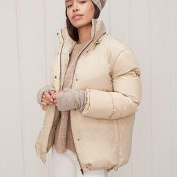 Puffer Jacket - Khaki   Jenni Kayne   Jenni Kayne