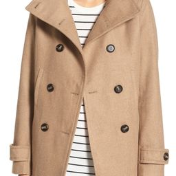 Double Breasted Peacoat   Nordstrom