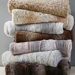 Zuri Reversible Faux-Fur Throw | Macys (US)
