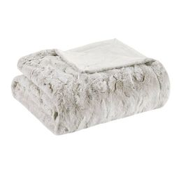 Marselle Oversized Faux Fur Throw   Target