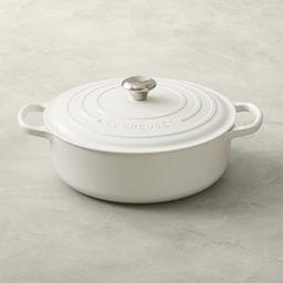 Le Creuset Signature Enameled Cast Iron Round Wide Dutch Oven, 6 3/4-Qt. | Williams-Sonoma