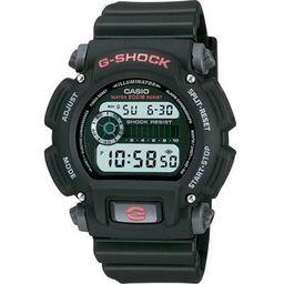 Casio Men's Digital Black and Gold Resin Strap G-Shock Watch DW9052GBX1A9 | Walmart (US)
