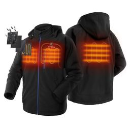 ORORO Men's Heated Jacket Kit With Detachable Hood and Battery Pack | Walmart (US)