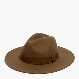 Madewell x Biltmore® Shaped Felt Hat   Madewell