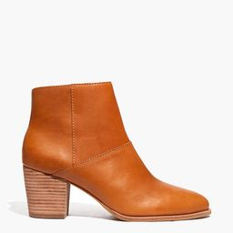 The Rosie Ankle Boot in Leather   Madewell