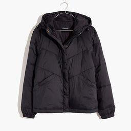 Chevron Packable Puffer Jacket   Madewell