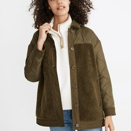 Hybrid Sherpa Jacket   Madewell