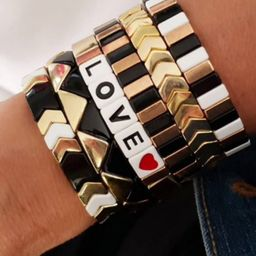 Mosaic Tile Bracelet   The Styled Collection