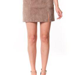 Suede Miniskirt | Nordstrom