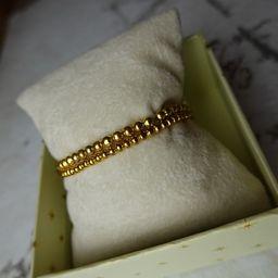 2 Pack Gold Stacking Bracelets  4mm Beaded Bracelet  3 MM | Etsy | Etsy (US)