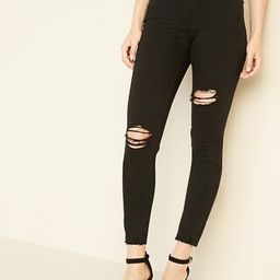 Mid-Rise Raw-Edge Rockstar Ankle Jeans for Women   Old Navy (US)