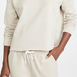 EcoKnit Recycled Fleece Sweatshirt | Shopbop