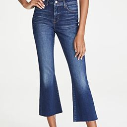 Kendra High Rise Crop Flare Jeans | Shopbop