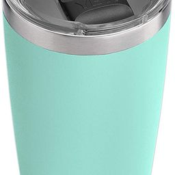 YETI Rambler 20 oz Tumbler, Stainless Steel, Vacuum Insulated with MagSlider Lid, Seafoam   Amazon (US)