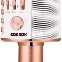 BONAOK Wireless Bluetooth Karaoke Microphone,3-in-1 Portable Handheld Karaoke Mic Speaker Machine...   Amazon (US)