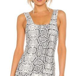 Varley Aletta Vest in Black & White. - size S (also in XS)   Revolve Clothing (Global)