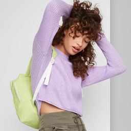 Women's Crewneck Pullover Sweater - Wild Fable™   Target