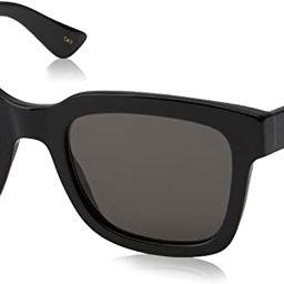 Gucci Fashion Sunglasses, 52/21/145, Black / Smoke / Black | Amazon (US)