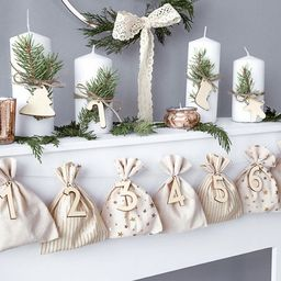 Advent Calendar Bags Reusable Christmas Advent Calendar Kit   Etsy   Etsy (US)