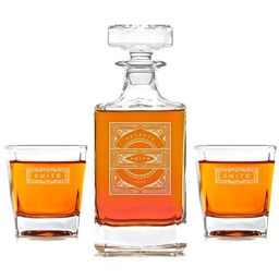Whiskey Decanter: The Vintage   Swanky Badger