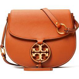 Miller Metal Logo Leather Crossbody Bag | Nordstrom