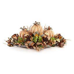 Autumn Naturals Centerpiece   MacKenzie-Childs