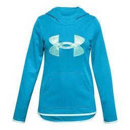 Girls 7-16 Under Armour Armour Fleece® Glitter Logo Hoodie | Kohl's