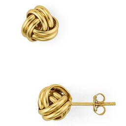 AQUA                                                        Love Knot Stud Earrings in 18K Gold-P...   Bloomingdale's (US)