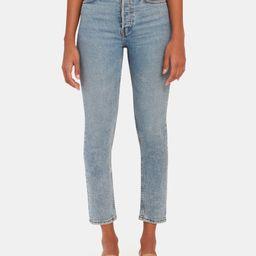 High Rise Ankle Crop Jeans   Verishop